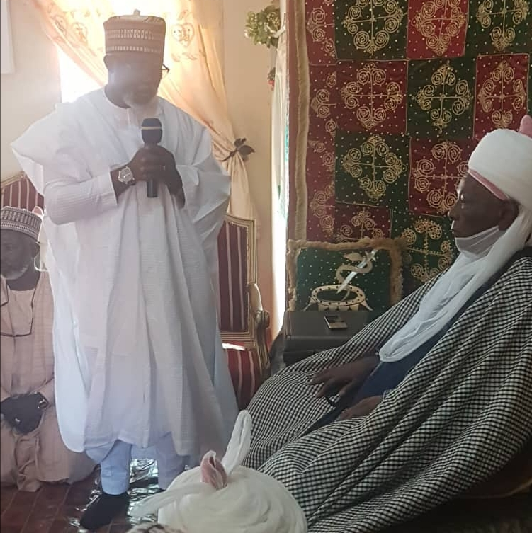 Pinnick -Led NFF Board Pays Courtesy Visit To Emir of Daura Ahead September 20 Elections