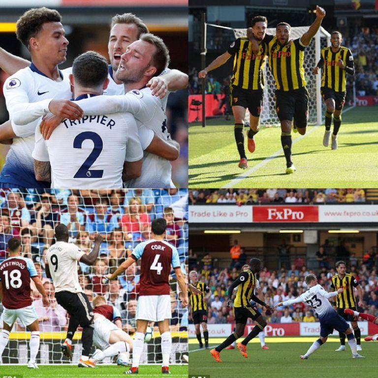Lukaku Bags Brace In Man United's Win At Burnley; Success Subbed On As Watford Pip Tottenham In London Derby