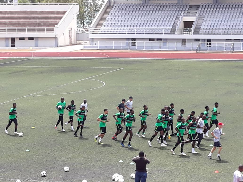 Super Eagles' Likely Starting Lineup Vs Sychelles: Collins, Kalu Favoured