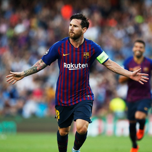 UCL: Messi Scores Hat-trick As Barca Maul PSV; Icardi, Vecino's Late Strikes For Inter Sink Spurs