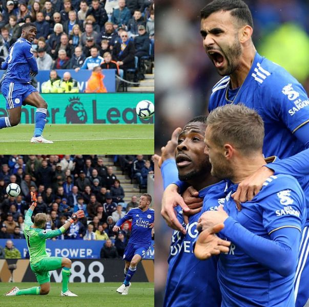 Iheanacho Scores, Makes Assist In Leicester Win Vs Huddersfield; Liverpool, Man City Win As Wolves Hold United