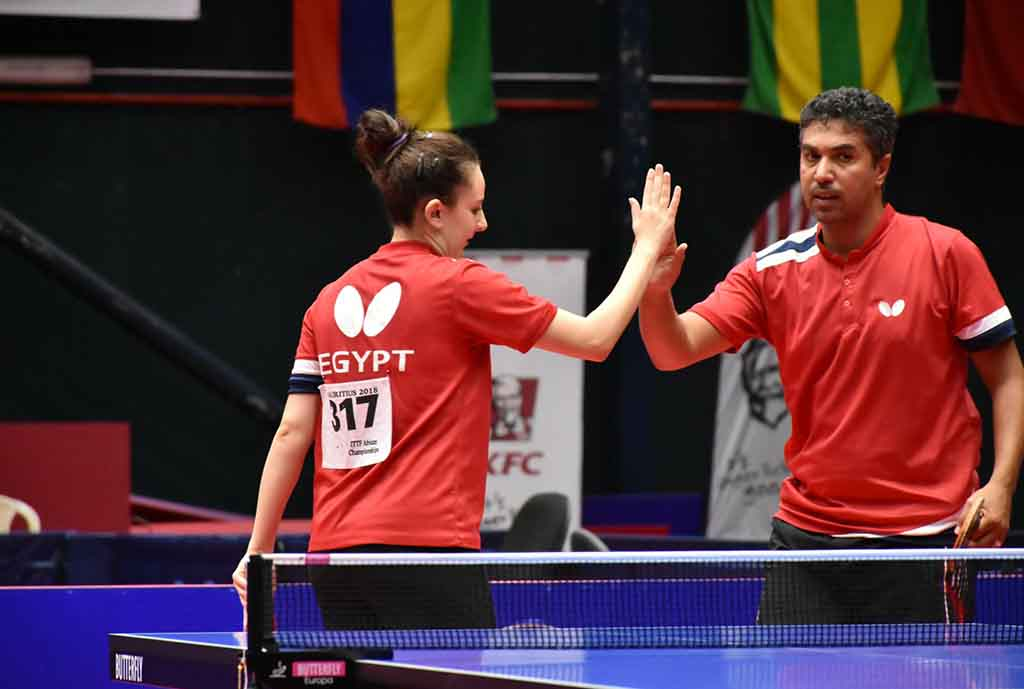 ITTF Africa: Egypt Stop Nigeria In Mixed Doubles Final, Men's Doubles Semis