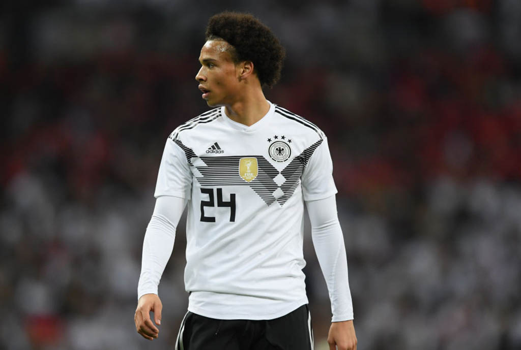 Sane Withdraws From Germany Squad For Peru Friendly