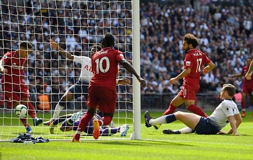 Liverpool Maintain 100% Record With Win Vs Tottenham At Wembley
