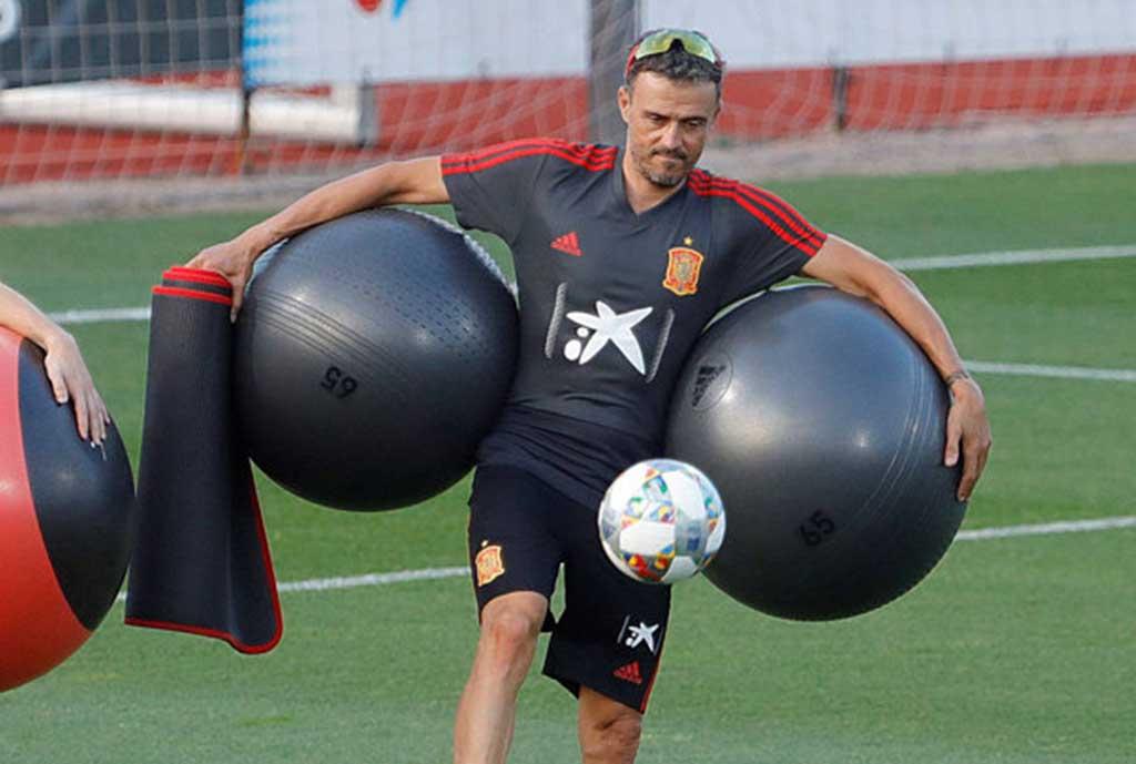 Enrique: Wembley Perfect Venue For My Debut As Spain Coach