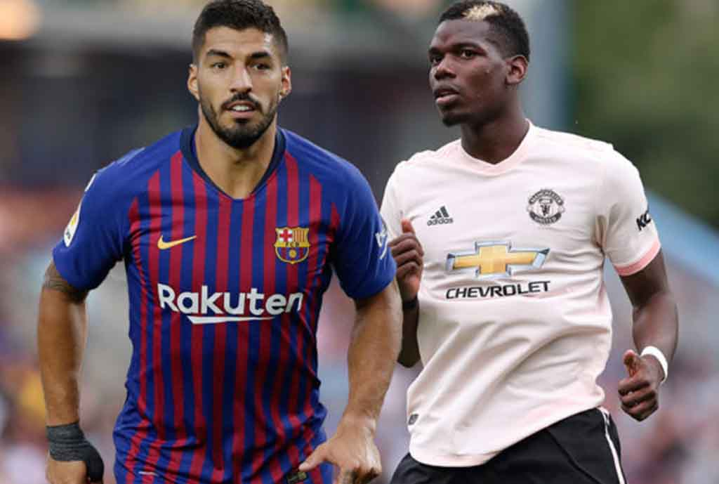 Suarez Hopes For Pogba Deal
