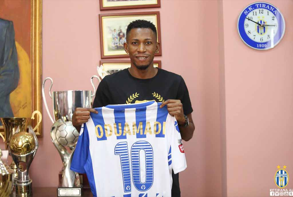 Oduamadi Eyes Albanian Cup Title With FK Tirana