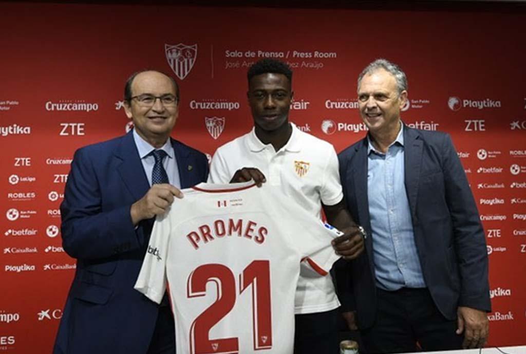 Quincy Makes Sevilla Promes
