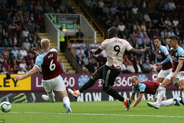 Lukaku Hails Man United's Character In Win Vs Burnley