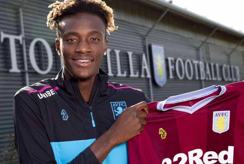 Tammy Abraham completes Aston Villa switch