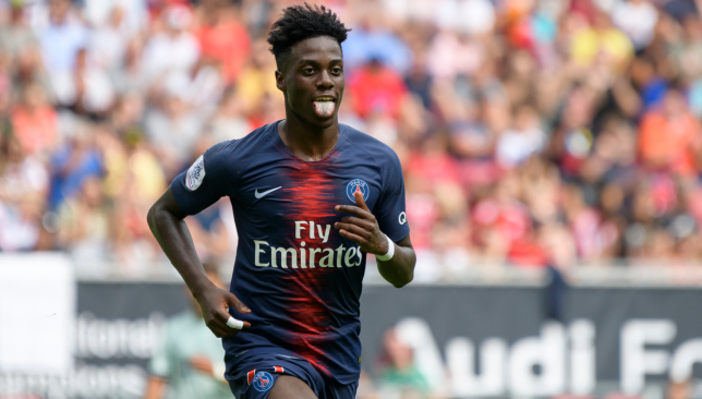 Weah To Fight For PSG Place