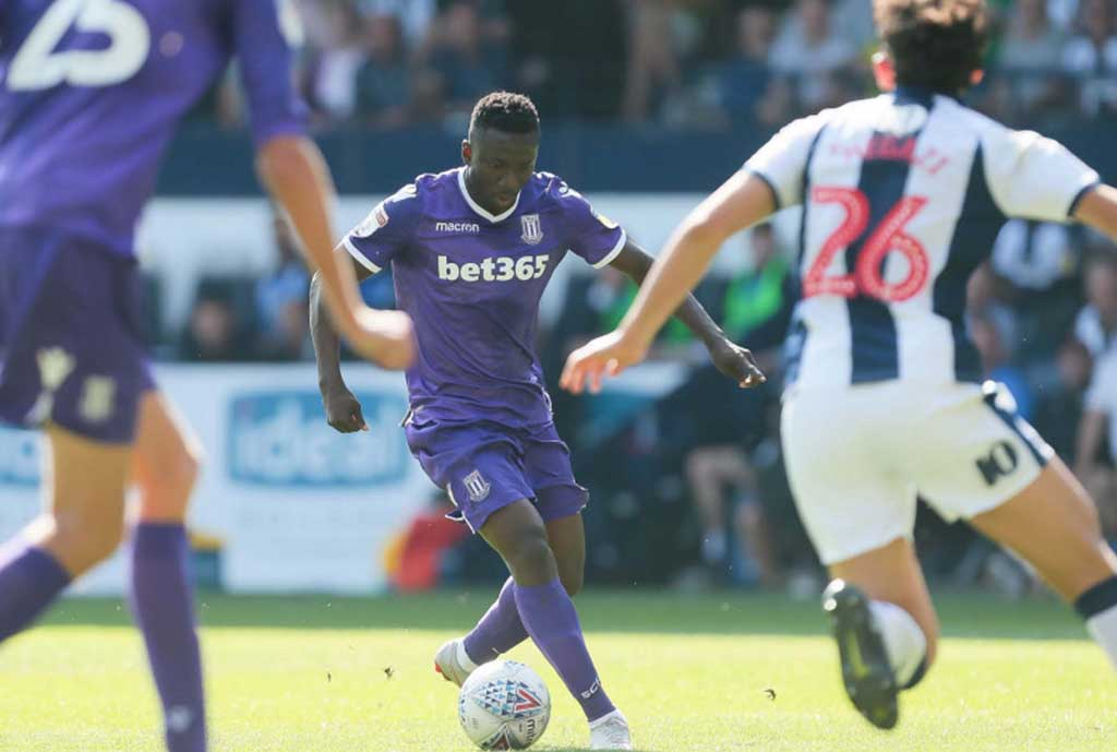 Etebo Upbeat Stoke City Will Bounce Back From Disappointing Loss To West Brom
