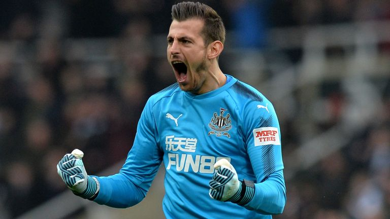 Dubravka In Awe Of 'Unbelievable' Shelvey