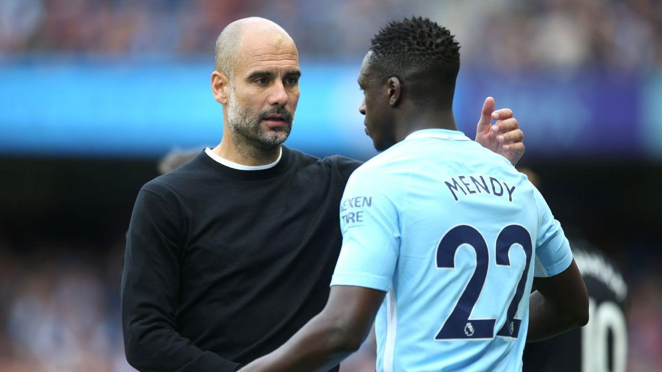 Mendy Rebuked By Guardiola