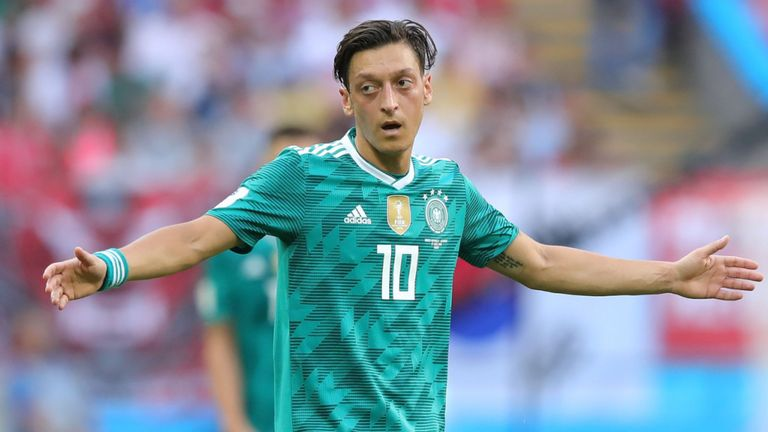 Ozil Germany Return Dismissed
