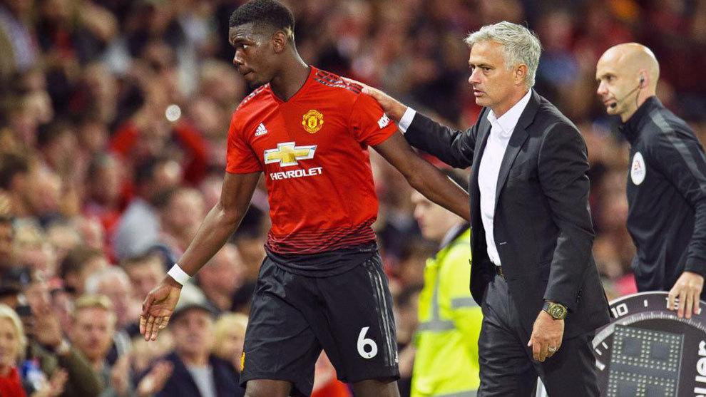 Pogba Praised By Mourinho