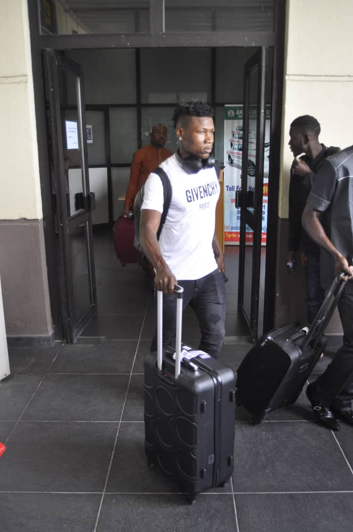 Kalu Finally Joins Eagles Teammates In Asaba Ahead Departure To South Africa