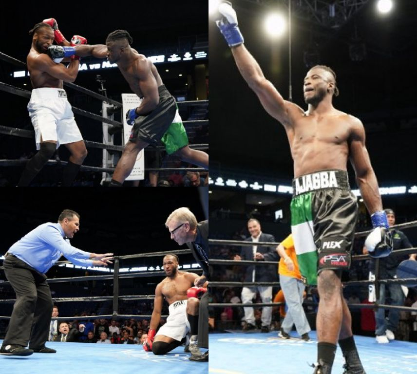 Boxing: Ex-Olympian Ajagba Bags 1st Round Knockout Win Vs USA's Jones