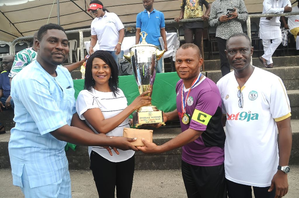 How Complete Sports Won 2018 Bet9ja Lagos SWAN Cup