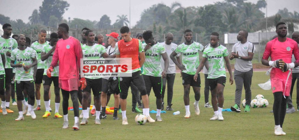 Eagles' 1st 11 Vs Libya: Rohr Hands Collins First Start As Iwobi, Shehu Returns