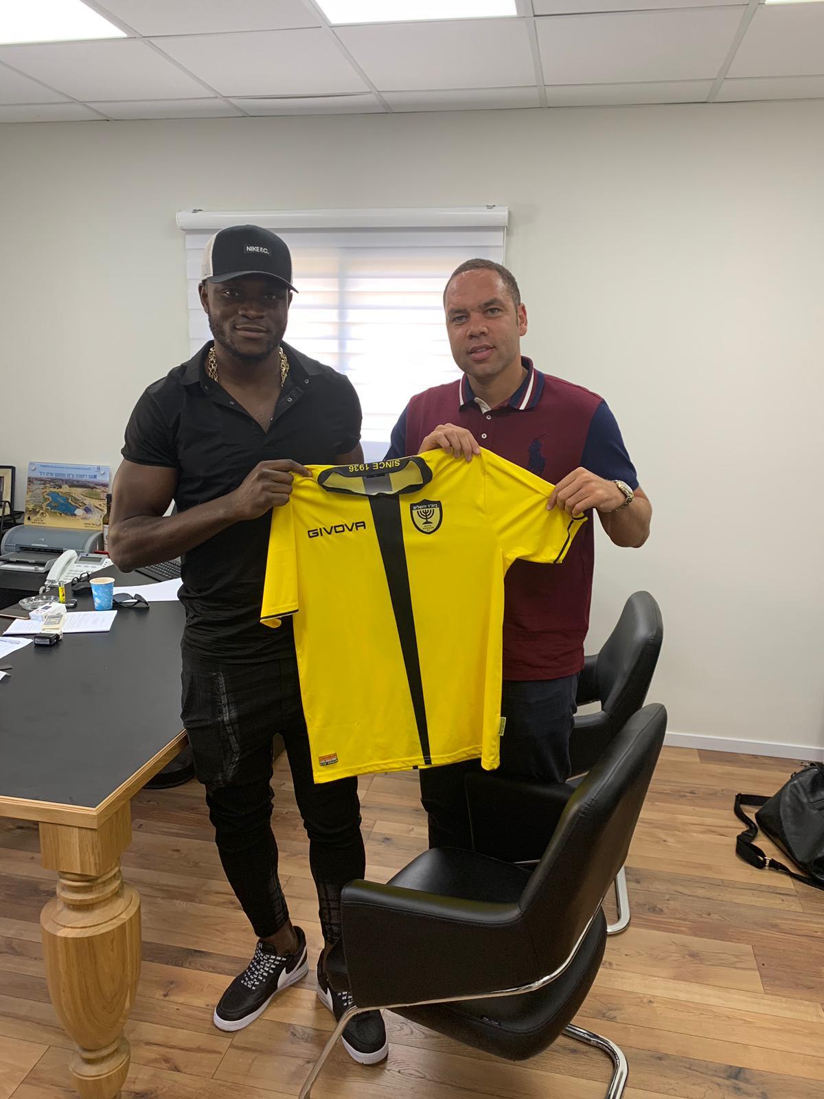 Aaron Samuel Joins Isreali Club Beitar Jerusalem On One-Year Deal