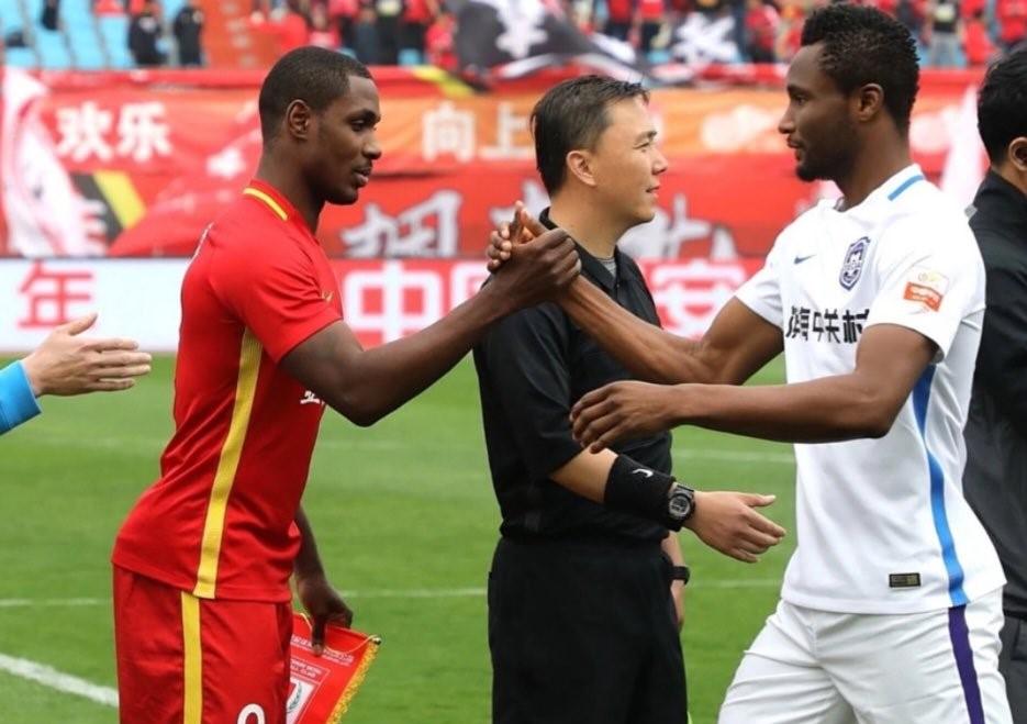 Ighalo, Mikel Clash In China As Tianjin Teda Host Changchun Yatai