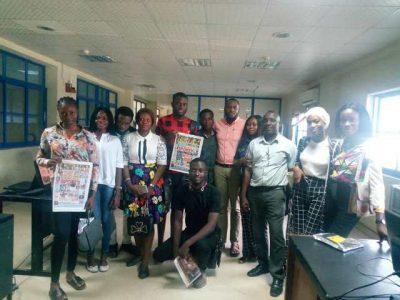 Mass Communication Students Of Lagos State Polytechnic