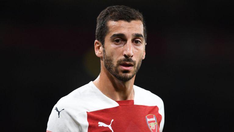 Mkhitaryan Doubtful For Arsenal Trip