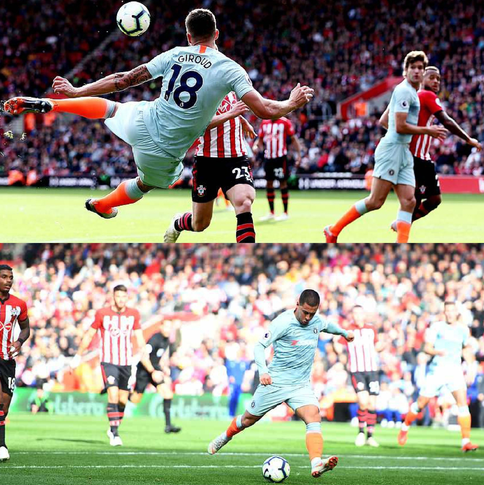 Moses Absent As Chelsea Spank Southampton 3-0 To Extend Unbeaten Run