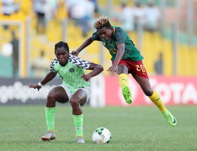 AWCON 2018-Champions Falcons Pip Cameroon On Penalties To Reach Final