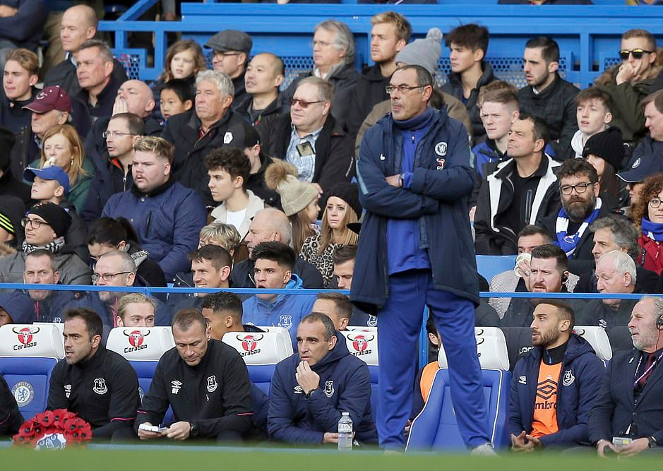 Sarri Rues Chelsea Slow Start In Home Draw Vs Everton