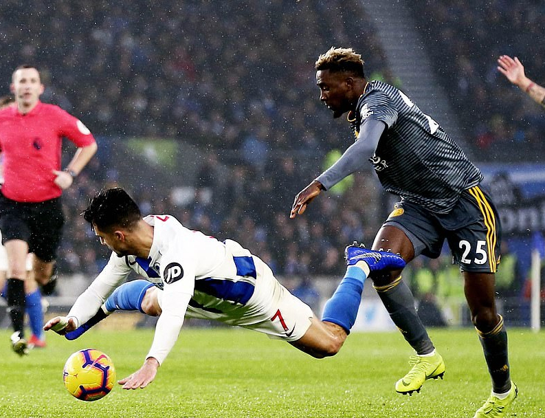 EPL: Ndidi Rated 20th Best Passer  After 13 Games; Iwobi 206th, Iheanacho 256th
