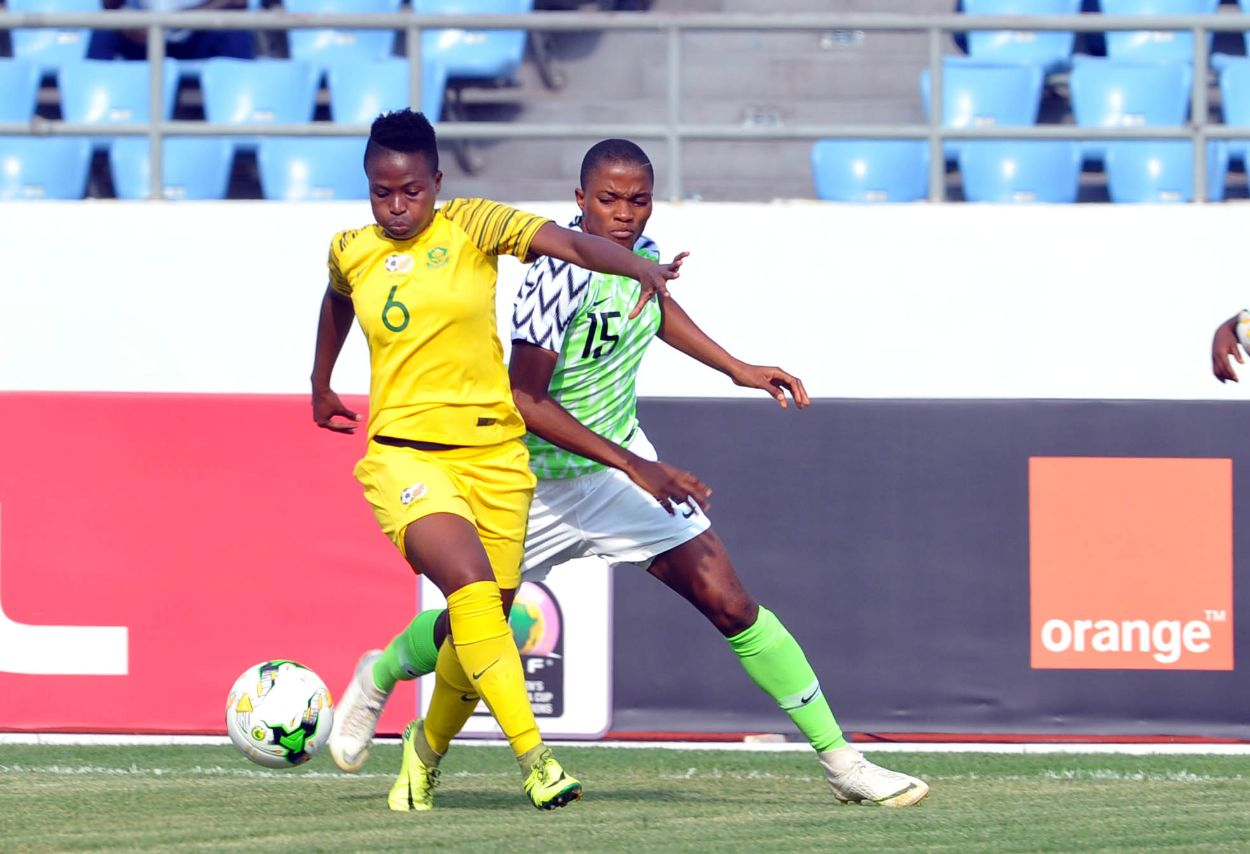 Oshoala, Ajibade Confident Falcons Will Reach AWCON 2018 Semis