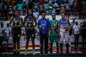 First Bank's Mohammed, Mfutila Named In FIBA ACCW All Star Team