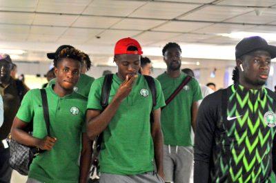 Eagles Arrive in Jo'burg, Omeruo Insists It's Revenge Mission Vs Bafana