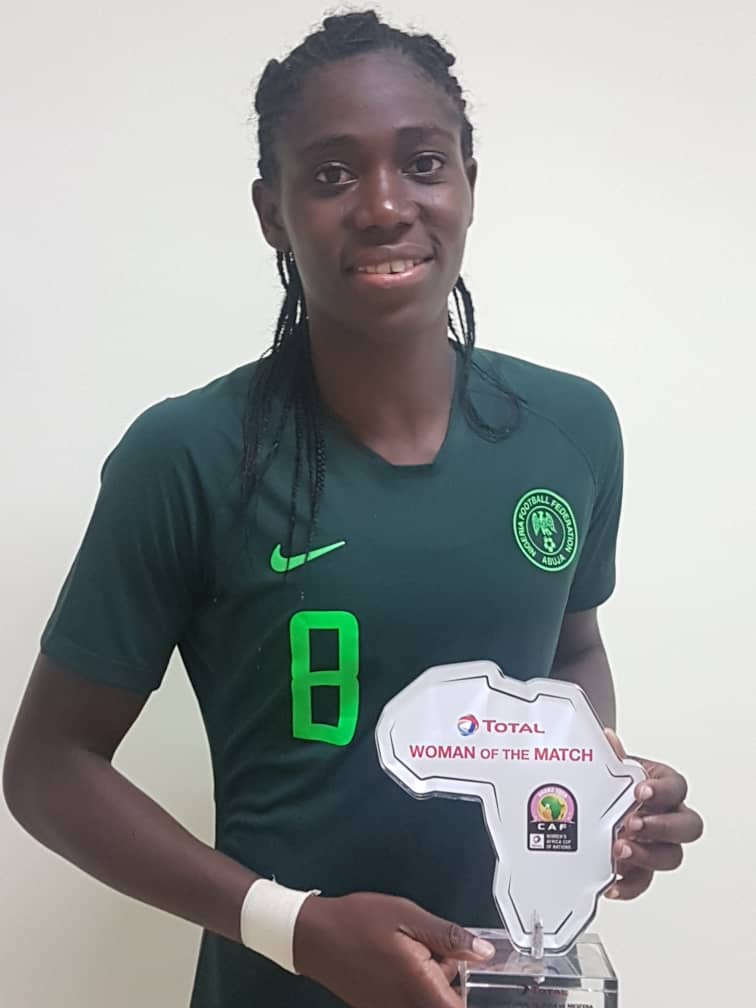 Oshoala: Super Falcons' Success Supercedes Individual's  Glory