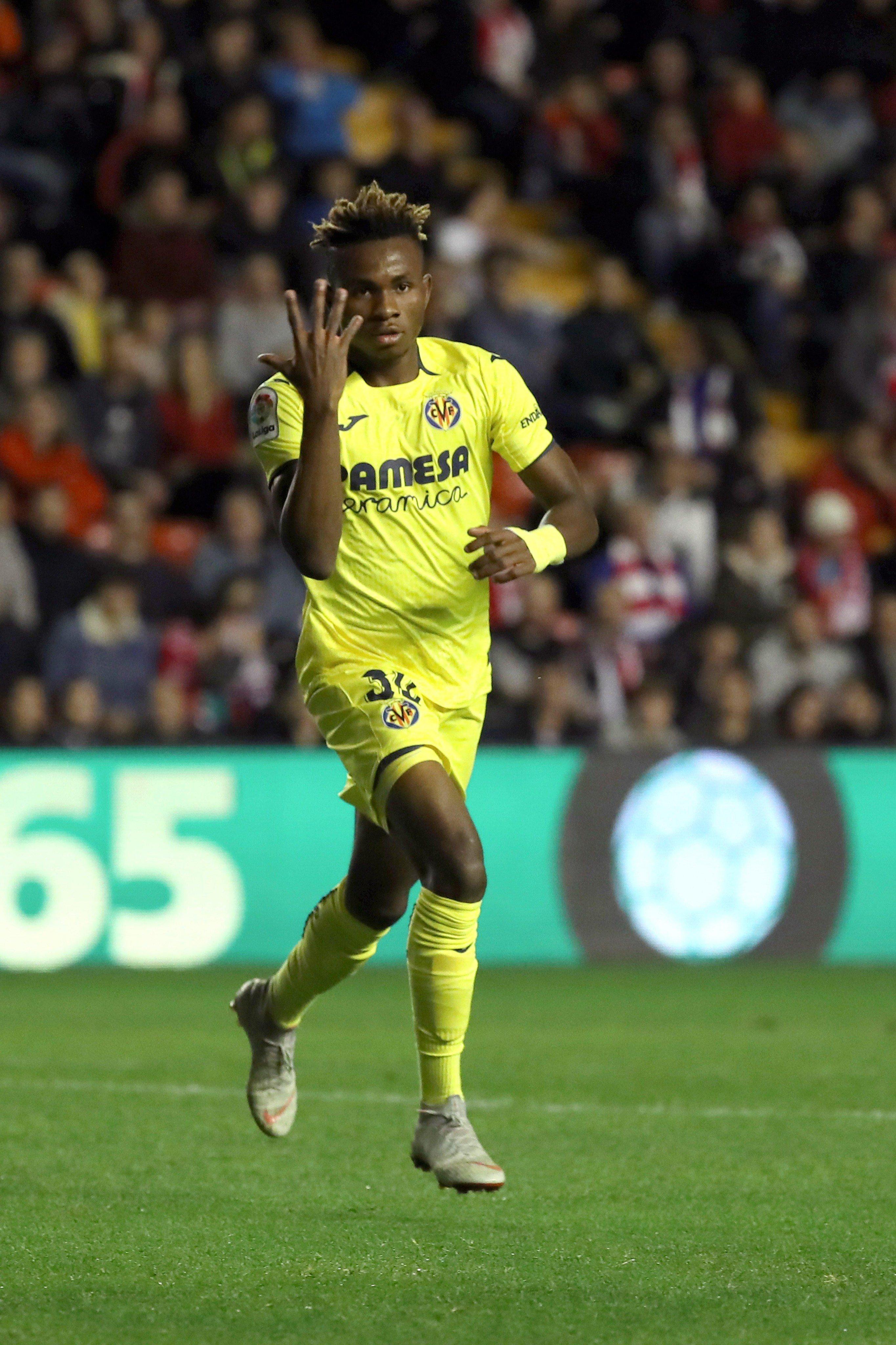 Roundup: Chukwueze Bags 1st LaLiga Goal For Villarreal; Onuachu, Adegbenro Also On Target In Europe