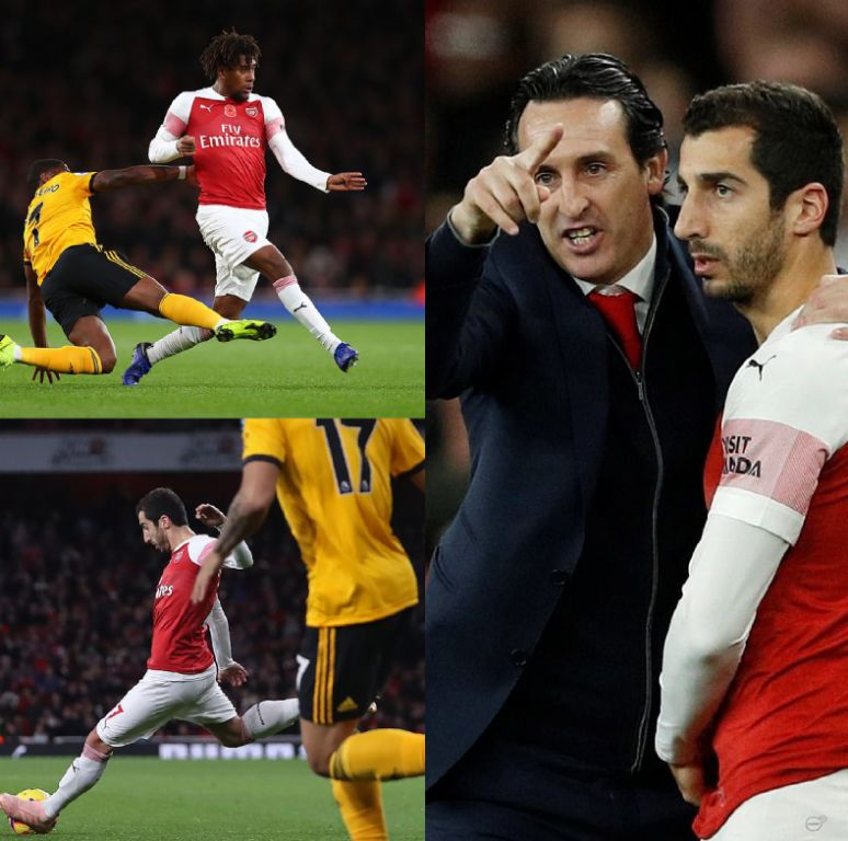 Iwobi Hurled Off In Emery's Tactical Substitution As Arsenal Record Home Draw Vs Wolves