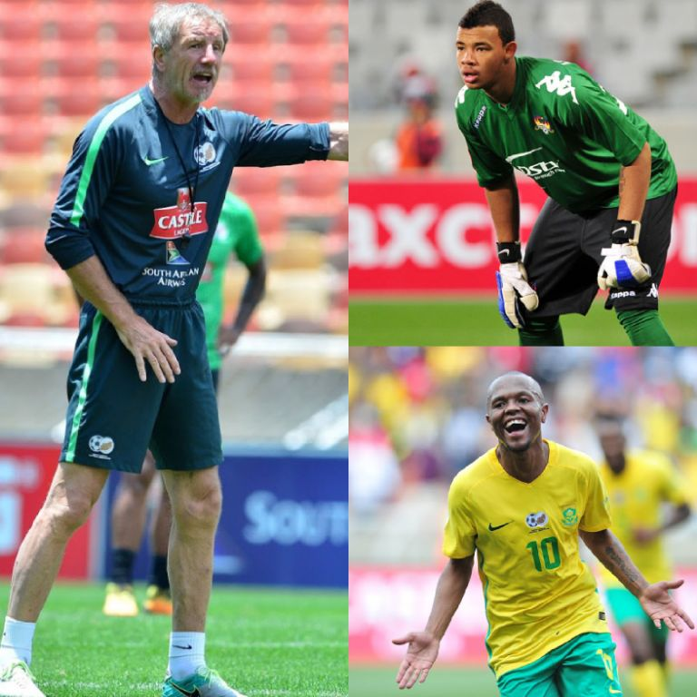 Baxter Confident Key Players Williams, Serero Will Be Fit For Bafana – Eagles Clash