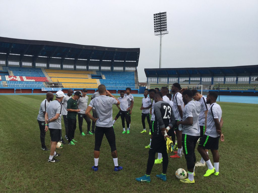 Eagles To Hold Closed Doors Training Session In Asaba Wednesday