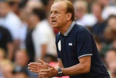 Rohr: Eagles Played Safe Against Risks Vs South Africa