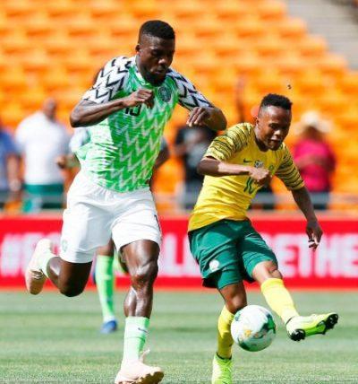 ABOVE AVERAGE: How Super Eagles Rated Vs Bafana Bafana