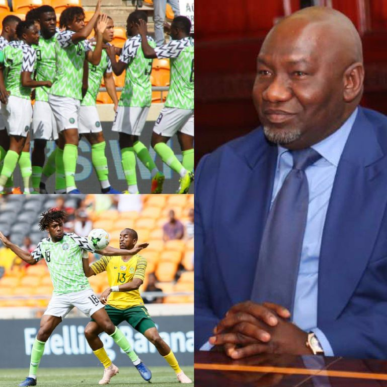NFF Thanks Aiteo Founder Peters For Eagles' 2019 AFCON  Qualification