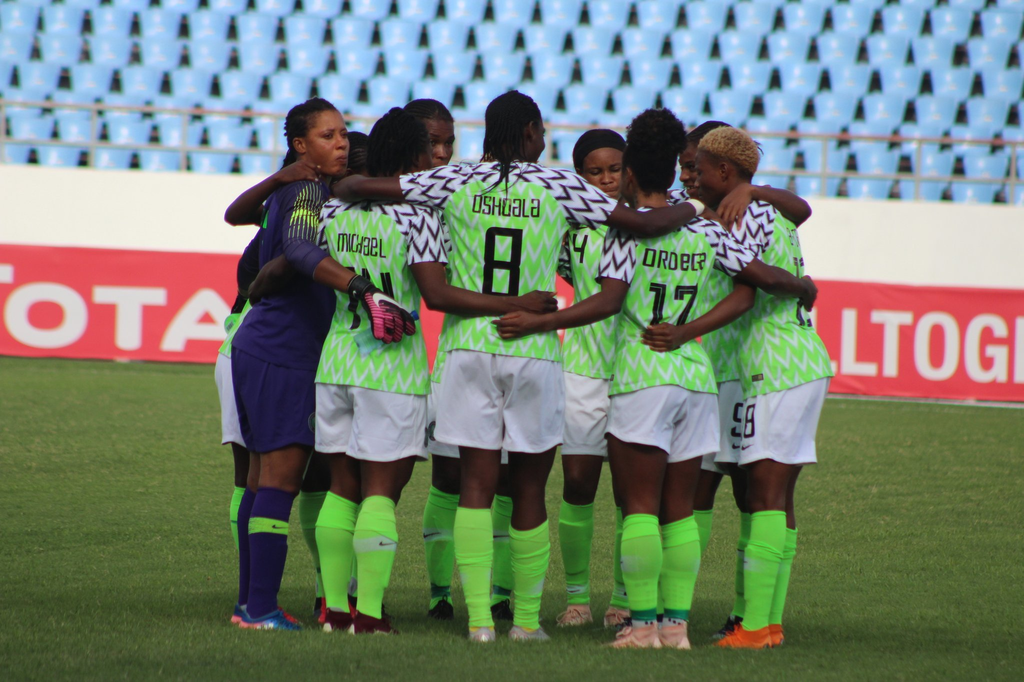 AWCON 2018: How Super Falcons Rated In 4-0 Win Vs Zambia
