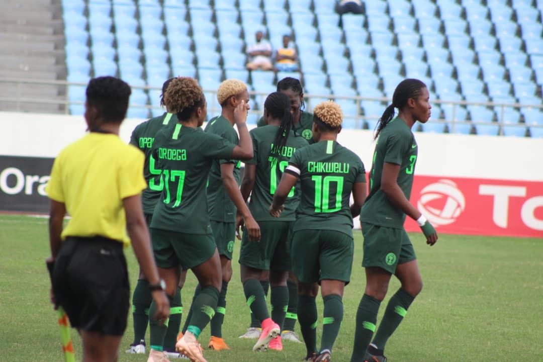 Rampant Super Falcons Maul Equatorial Guinea 6-0, Clash With Cameroon In AWCON 2018 Semis
