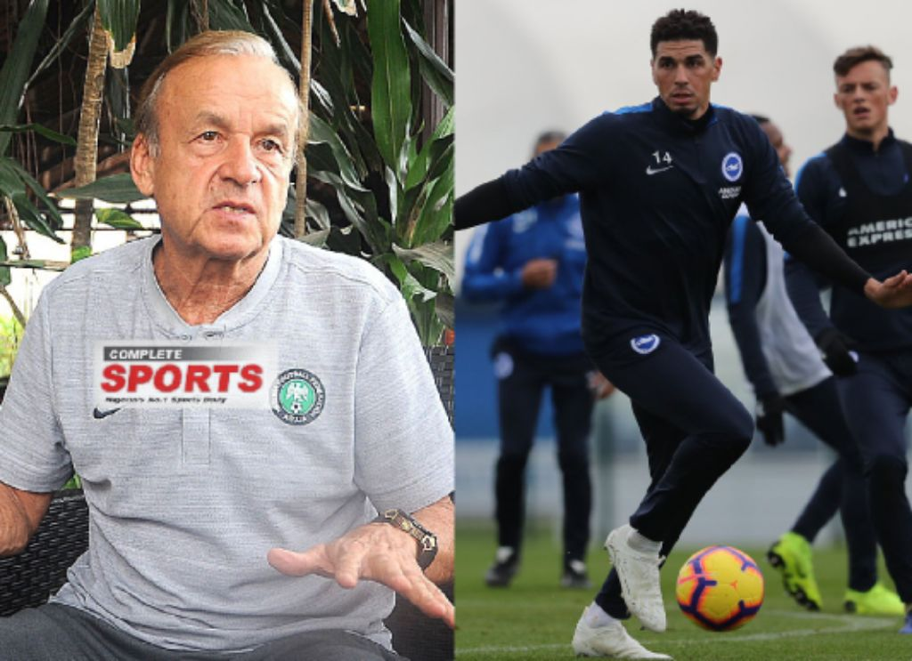 Rohr concerned Over Balogun's Lack Of Game Time At Brighton