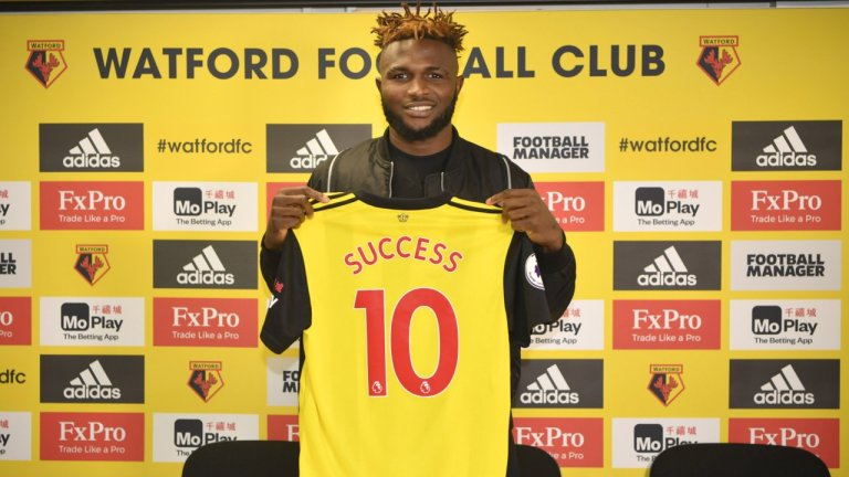 Success Signs New Long-Term Contract With Watford