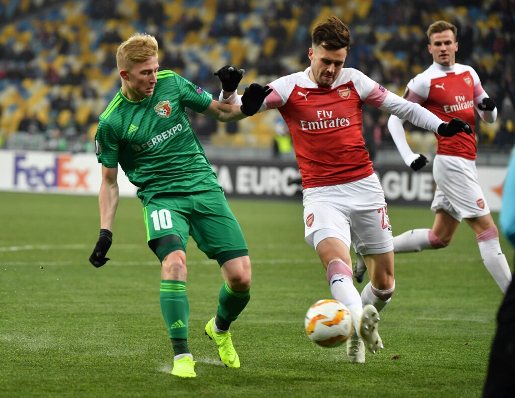 Europa League: Iwobi Missing In Arsenal Win Vs Vorskla; Saka Makes Debut; Kalu,  Odey In Action