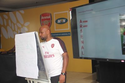 MTN Arsenal Coaching Clinic (1)