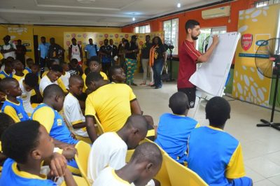 MTN Arsenal Coaching Clinic (2)